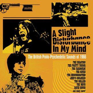A SLIGHT DISTURBANCE IN MY MIND British Psychedelic 1966 (V.A.) BOX 3 CD