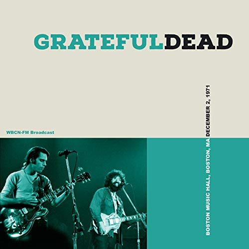 GRATEFUL DEAD Boston Music Hall, 1971 BOX 3 CD