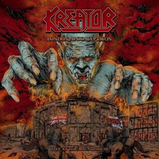 KREATOR London Apocalypticon - Live At Roundhouse DLP Limited Edition