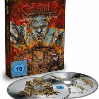KREATOR London Apocalypticon - Live At Roundhouse BOX CD+BLURAY