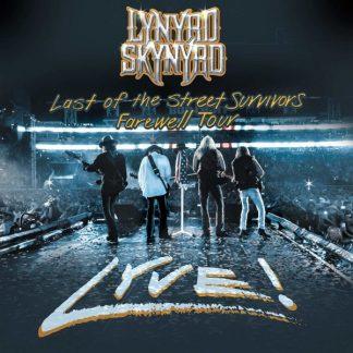 LYNYRD SKYNYRD Last Of The Street Survivors Lyve BOX 2CD+DVD
