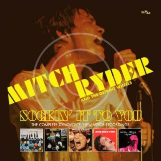 MITCH RYDER & DETROIT WHEELS Sockin' It To You-Complete Dynovoice BOX 3 CD