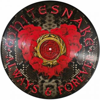 """WHITESNAKE Always & Forever 12"""" single Limited Edition Picture Disc 12"""""""