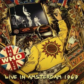 WHO Live In Amsterdam 1970 LP