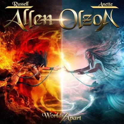 RUSSELL ALLEN / ANETTE OLZON Worlds Apart CD