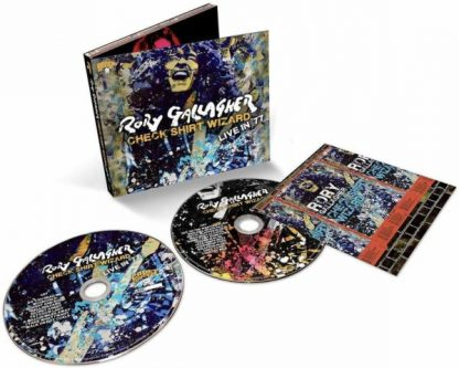 RORY GALLAGHER Check Shirt Wizard - Live in '77 BOX 2 CD