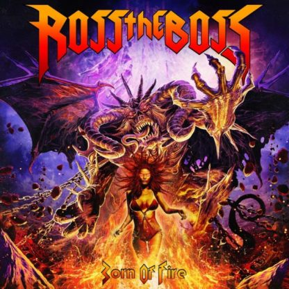 ROSS THE BOSS Born Of Fire LP Limited Edition
