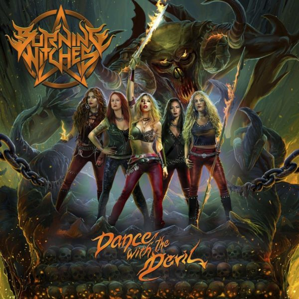 BURNING WITCHES Dance With The Devil CD