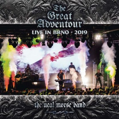 NEAL MORSE BAND The Great Adventour-Live in Brno 2019 BOX 2 CD+2 BLURAY