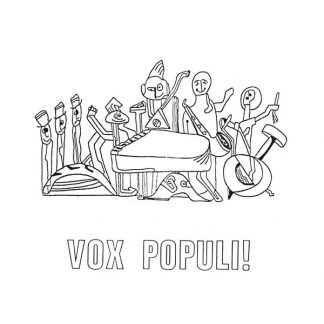 VOX POPULI La Cathedrale Morte LP Limited Edition